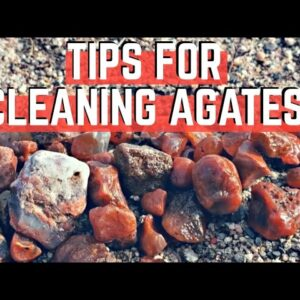 How to CLEAN Your Agates, Rocks and Other Treasures!