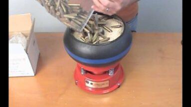 Polishing Brass with the Thumler's UV-10 Tumbler