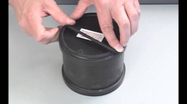 Putting a Lid and Retaining Ring on a Thumler's Tumbler Barrel