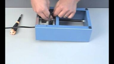 Replacing the Belt on a Lortone Model 33B or 45C Rock Tumbler
