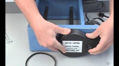 Replacing the Belt on a Lortone Model QT-series Rock Tumbler