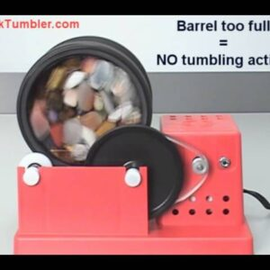 Rock Tumblers - How Much Rock to Tumble?
