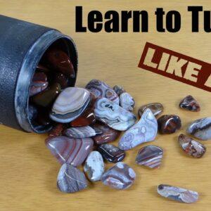 Rock Tumbling Tutorial for Rotary Tumblers and Ceramic Media