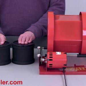 Thumler's Model B Rock Tumbler - Convert it to run 2 barrels