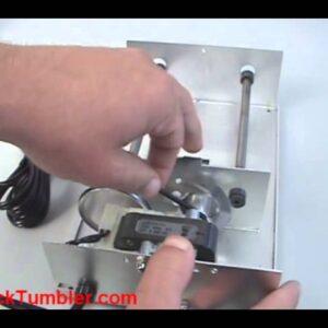 Tightening the Belt on a Lortone 3A Rock Tumbler