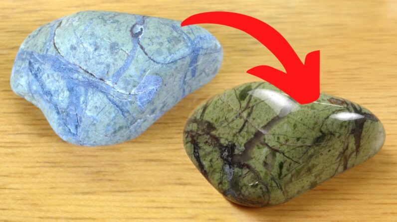 Tumbling Michigan Beach Rocks from 2020 (Part 1) - Rocks in a Box 46