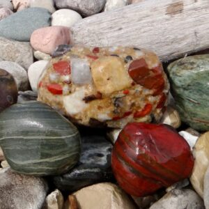 A Beautiful Spring Day on the Beach, and Great Rocks Too!