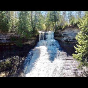 Laughing Whitefish Falls, Eben Junction, Michigan