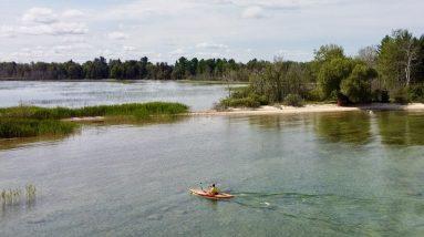 Sometimes a Rock Hunt Turns into Just a Nice Kayak Ride—Ossineke Kayaking