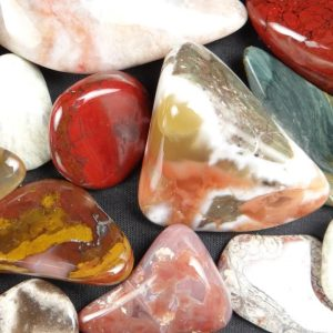Assorted Tumbled Rocks—Rocks in a Box 56