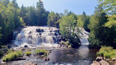 Bond Falls, Paulding, Michigan